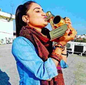 Pragya Mishra eNBA award