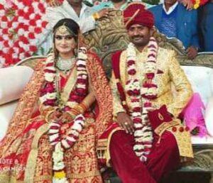 Pragya Mishra wedding photo