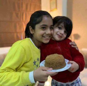 Rohit Sardana daughters