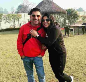 Rohit Sardana wife pramila