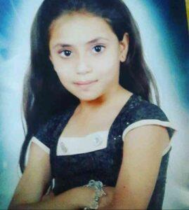 Shanaya Katwe in childhood