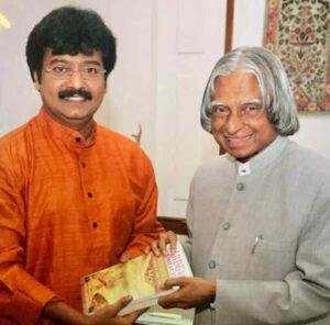 tamil actor vivek with former president APJ Abdul Kalam