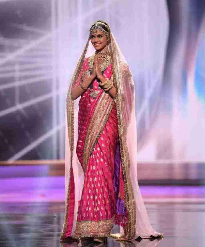 Adline Castelino represents Indian Culture in Miss Universe 2020