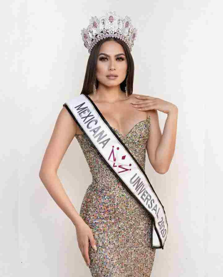 Andrea Meza won the crown Mexicana Universal 2020