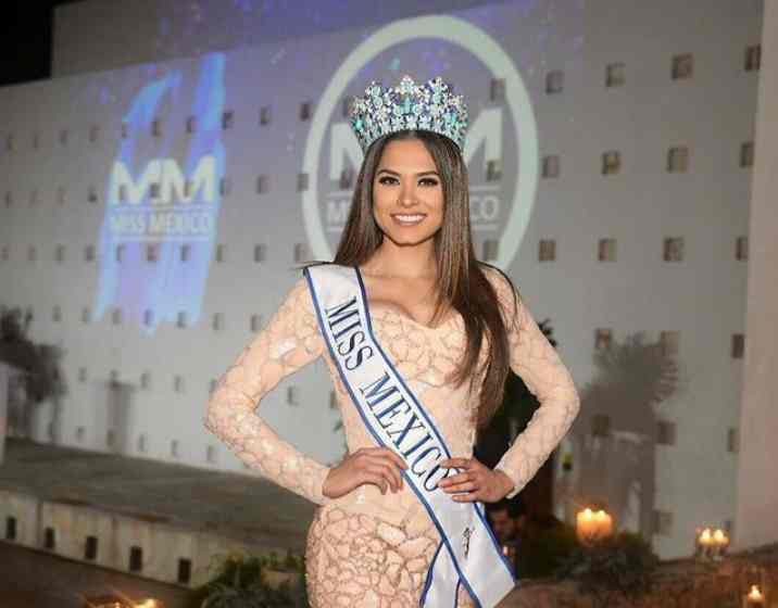 Andrea Meza won the crown of Miss Mexico