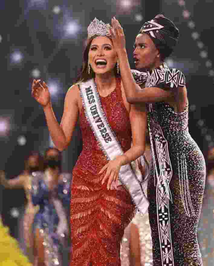 Andrea Meza won the crown of Miss Universe 2020