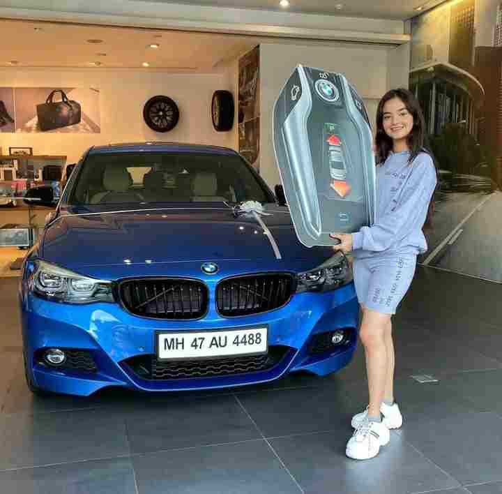 Anushka Sen owns BMW Car