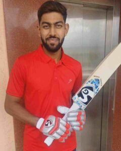 Jagadeesha Suchith left handed bat