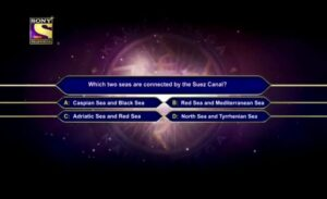 KBC 13 registration fourth question with the answer on 13 May