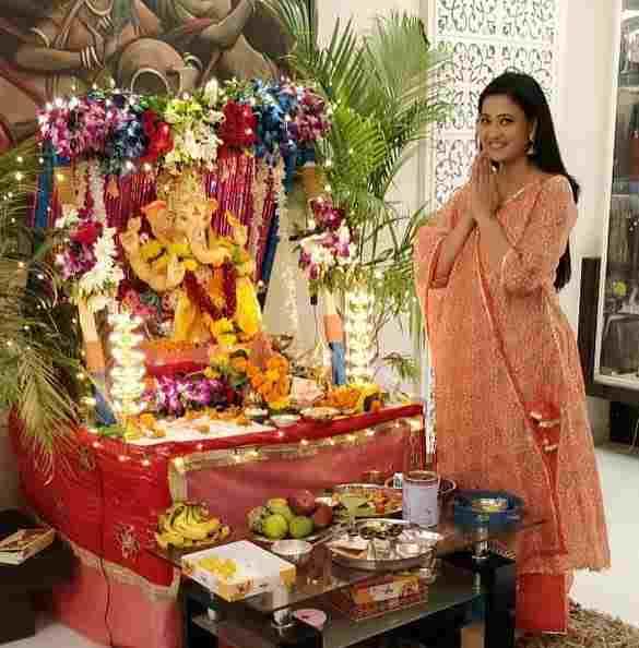 Shweta tiwari worshiper of Lord Shri Ganesha