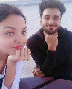 Soorya J Menon with his brother siddharth Menon
