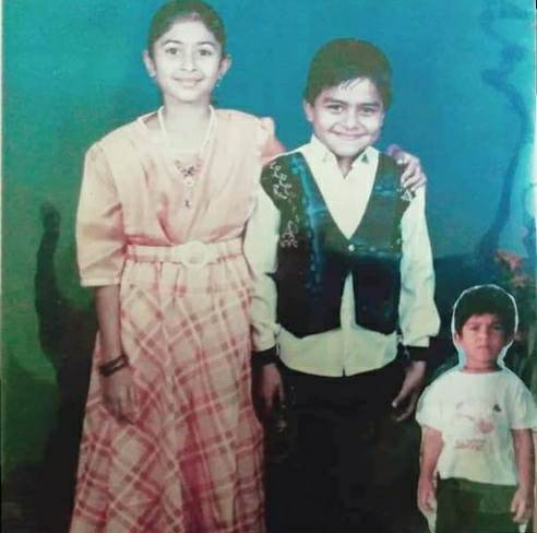 Aisha Sultana childhood photo