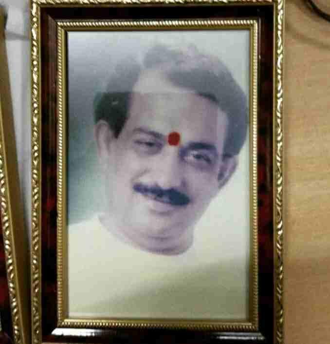 Arjun Bijlani father late Sudarshan Bijlani