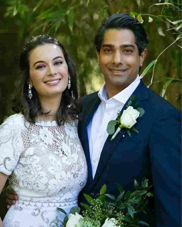 Evelyn Sharma with his Husband Tushaan