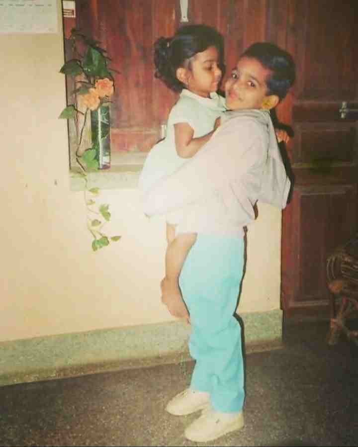 Harshvardhan Rane childhood photo