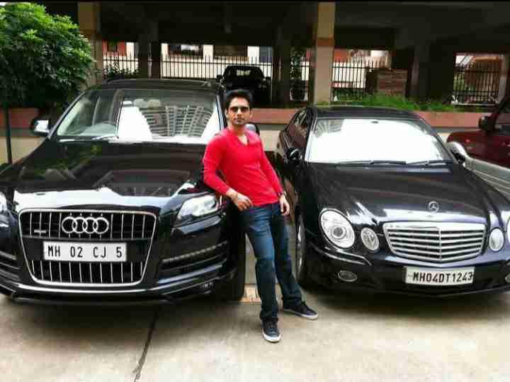 Rahul Vaidya car photo