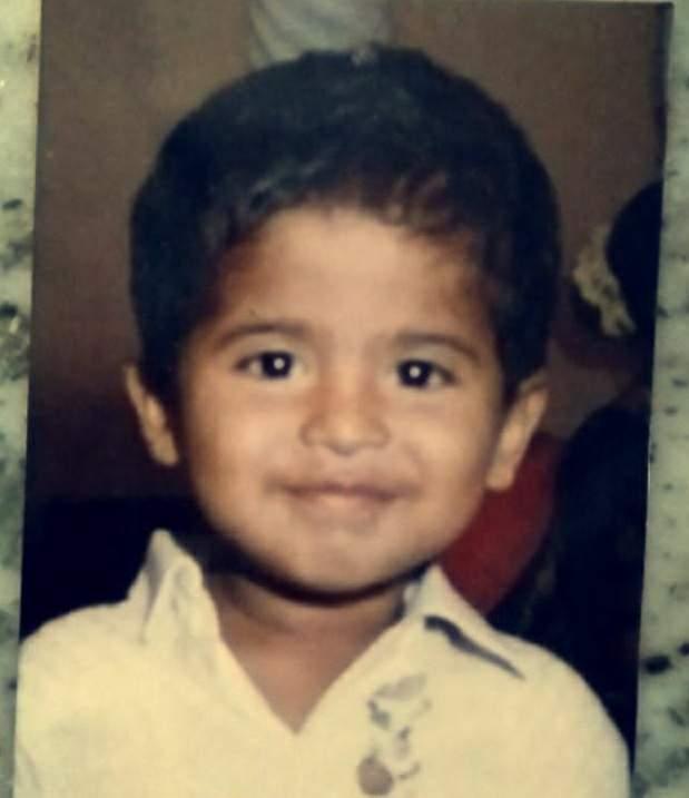 Tushar Shetty childhood photo