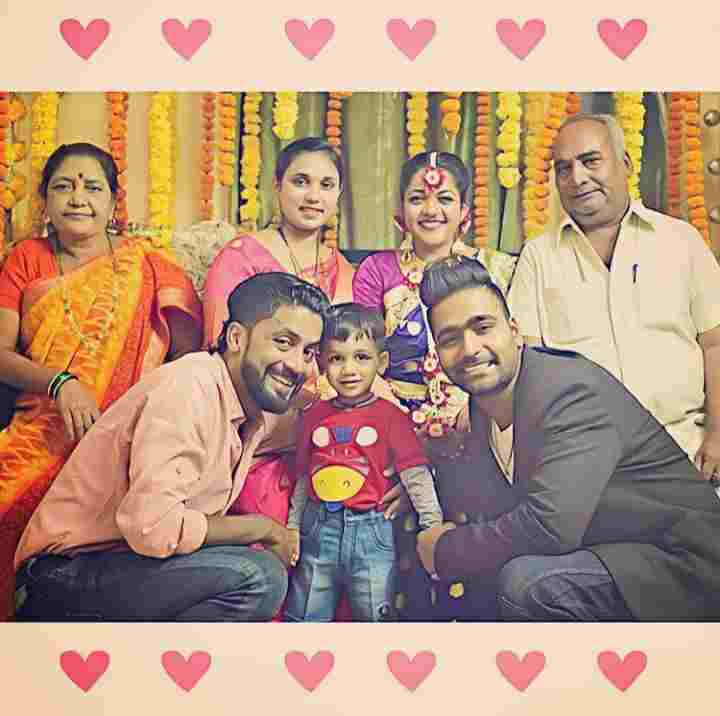 Vaibhav Ghuge family