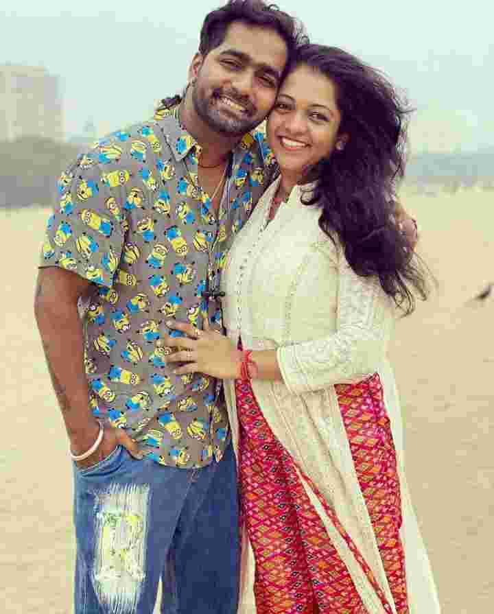 Vaibhav Ghuge with her Girlfriend Meghana Suryawanshi