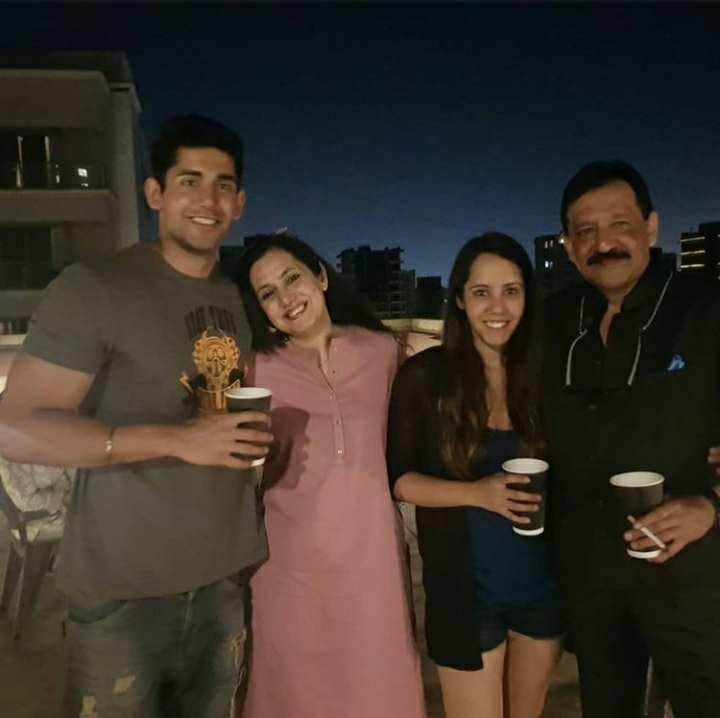 Varun Sood family