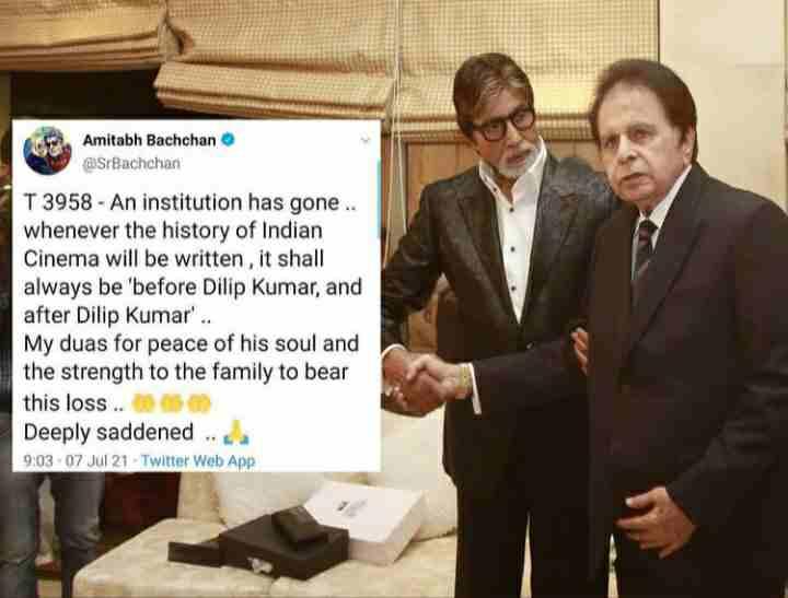 Amitabh Bachchan Tweet after his departure