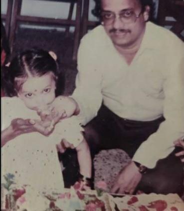 Anuradha Iyengar father