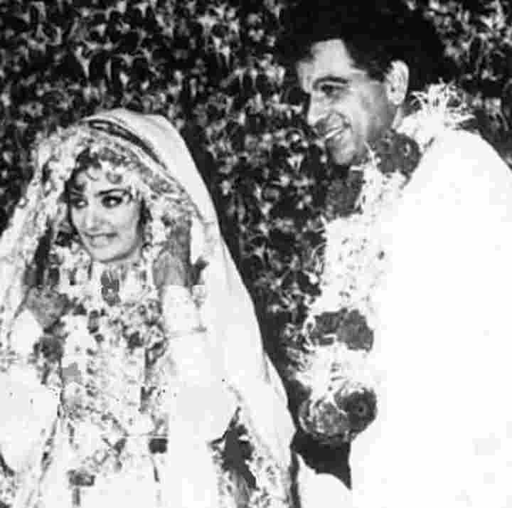 Dilip Kumar married Saira Banu
