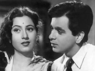 Dilip Kumar with her Girlfriend Madhubala
