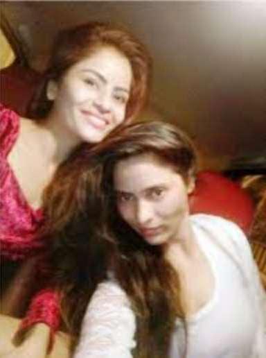 Gehana Vasisth with her sister
