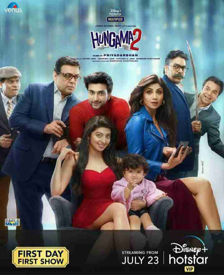 Hungama 2 official poster