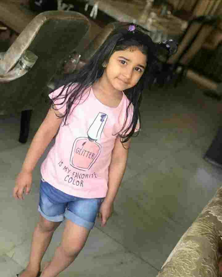 Jatin Ahuja daughter Zaara Jatin Ahuja