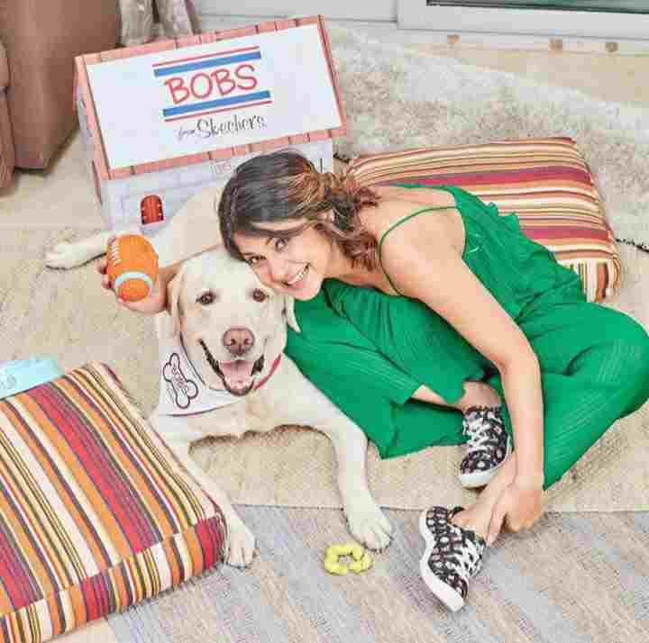 Jennifer Winget pet dog Breezer