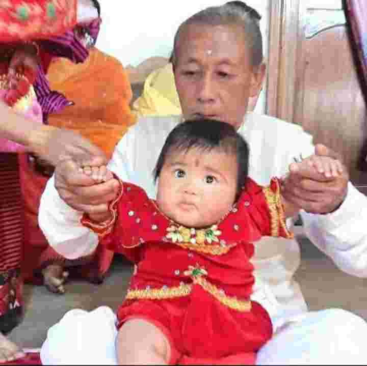 Mirabai Chanu with her father