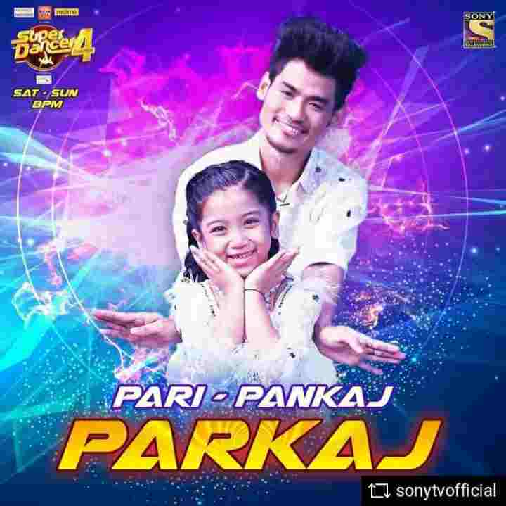 Pankaj Thapa as a super guru in super dancer chapter 4