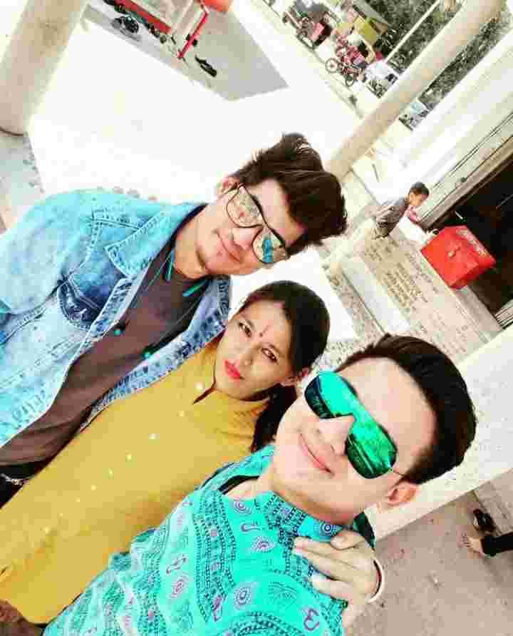Pankaj Thapa family