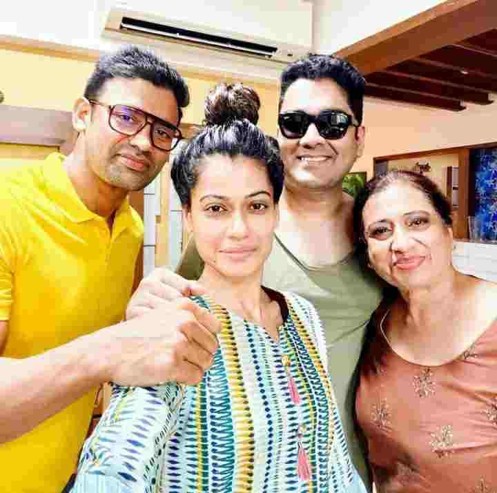 Payal Rohatgi family