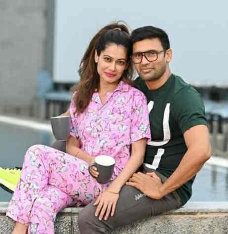 Payal Rohatgi with her Boyfriend Sangram Singh