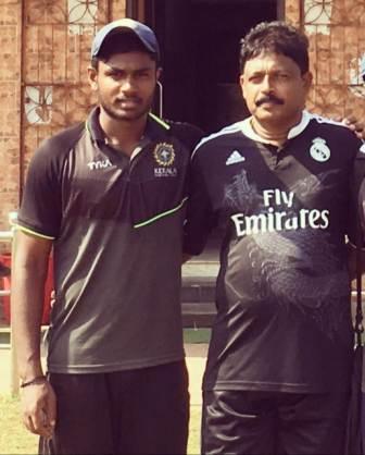 Sanju Samson father Samson Viswanath