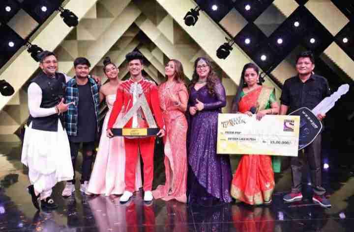 Vartika Jha winner of the Indias Best Dancer