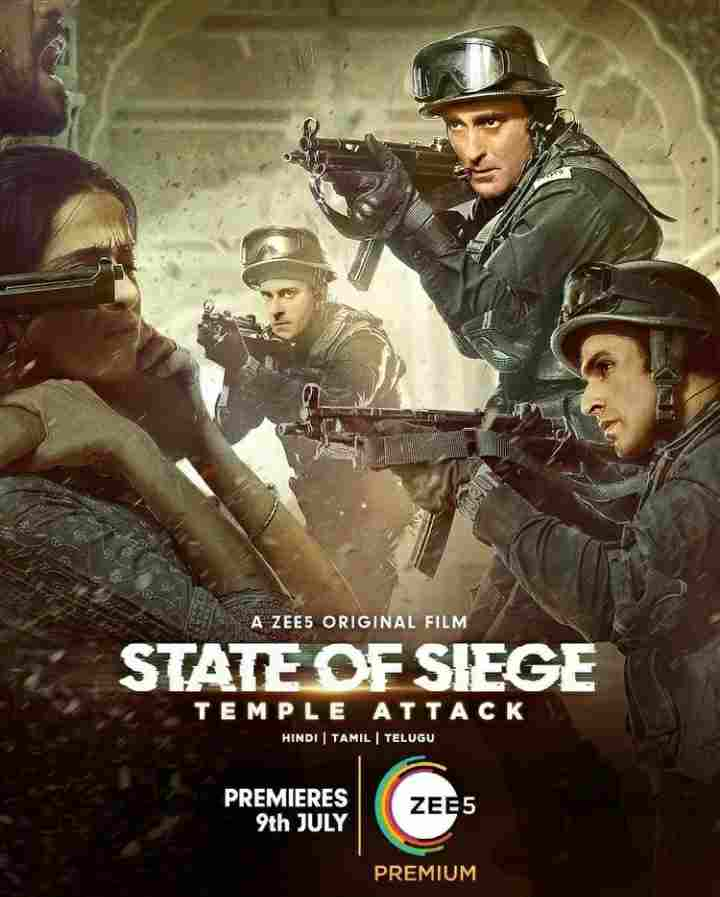 Zee5 State of Siege Temple Attack