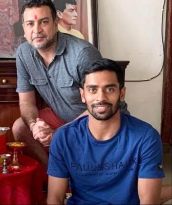 Abhimanyu Easwaran coach Apurva Das