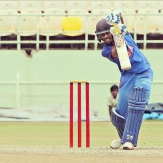 Abhimanyu Easwaran right handed bat