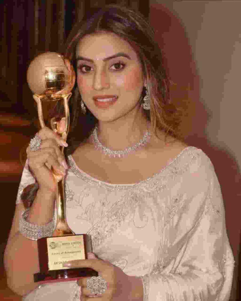 Akshara Singh award