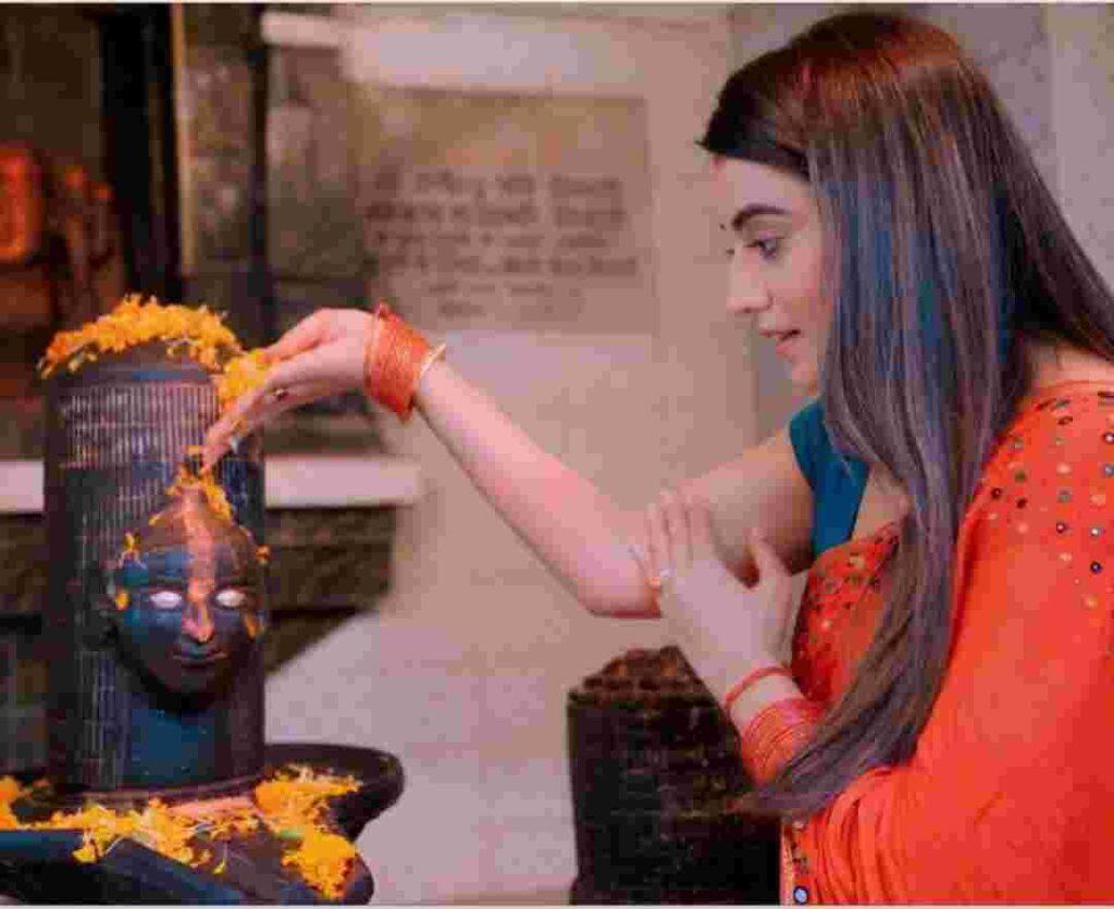 Akshara Singh devottee of lord shiva