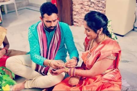 Hanuma Vihari wife Preethiraj Gade