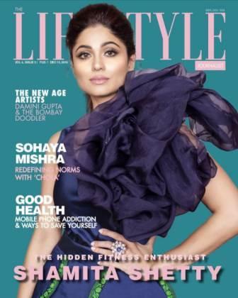 Shamita Shetty covered on magazine