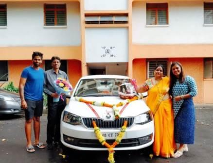 Surya Kumar Yadav own a Marcedes car