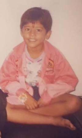 Suryakumar Yadav childhood photo