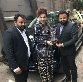 Taapsee Pannu owned a Marcedes Car