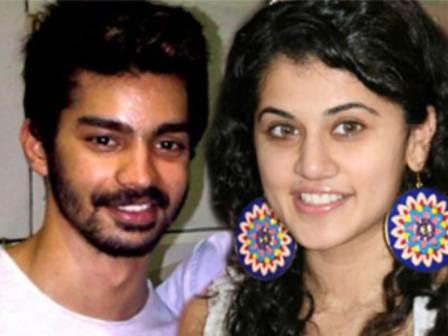 Taapsee Pannu with her ex boyfriend Mahat Raghavendra